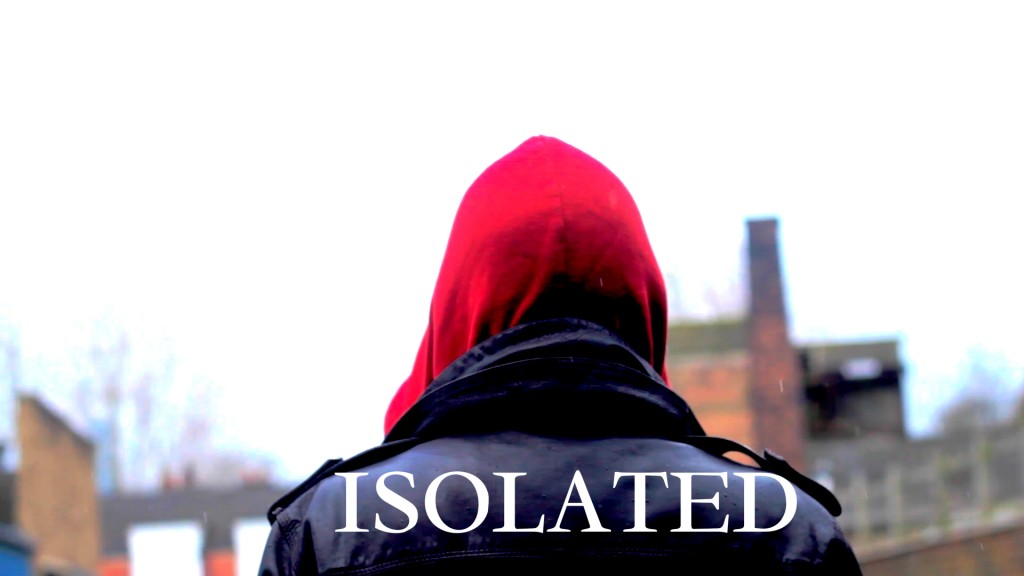 Isolated ANother Poster With Hooded Man